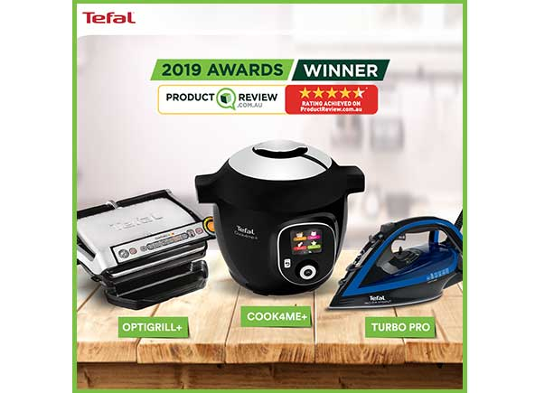 ProductReview Awards Tefal Australia