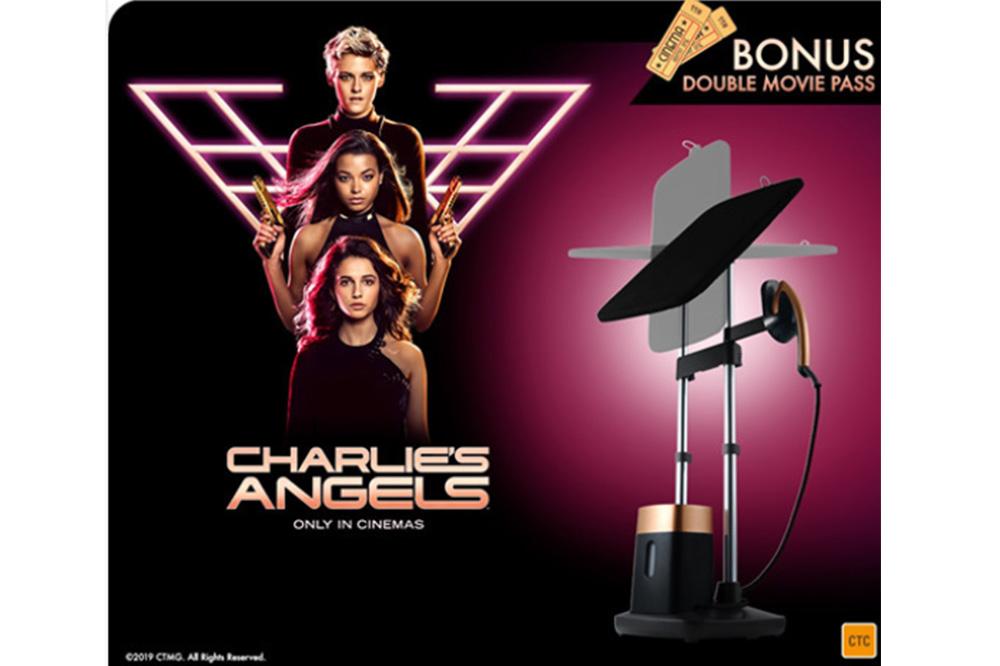 Tefal renouvelle son partenariat avec SONY Pictures en Australie pour le lancement du dernier opus de Charlie's Angels.
