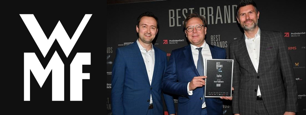 Consumers vote WMF as Germany's best brand