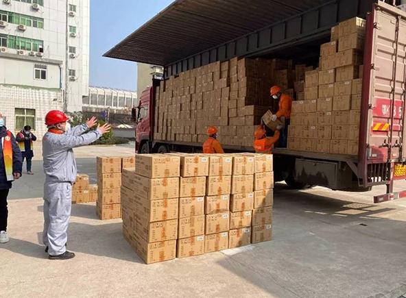 0 000 masques pour enfants ont été donnés à plusieurs associations dans les villes où le Groupe est présent en Chine. Supor