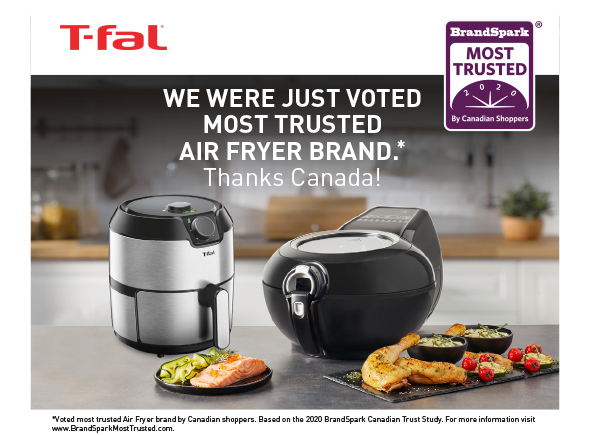T-fal Fryers awarded in Canada