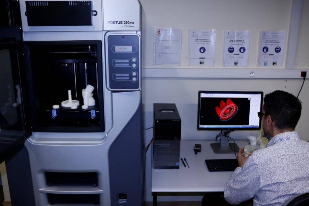 machine 3d pieces détachéeè