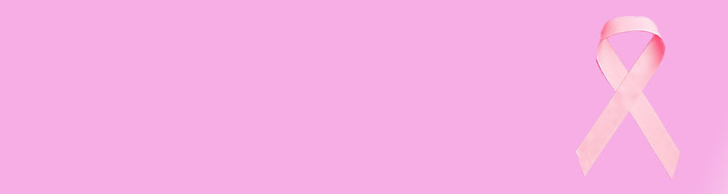 Pink background with a pink ribbon