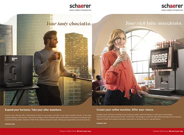 "Schaerer publicity ""We love it your way"""