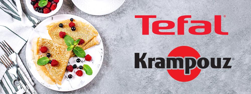 Logo Tefal and Krampouz
