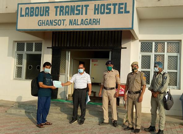 GS Inde fait don de chauffages aux centres de soins COVID-19